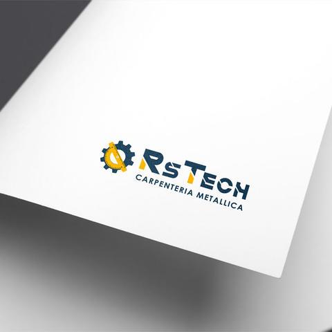Realizzazione nuovo logo Carpenteria RsTech