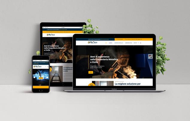 Restyling sito web Carpenteria RsTech