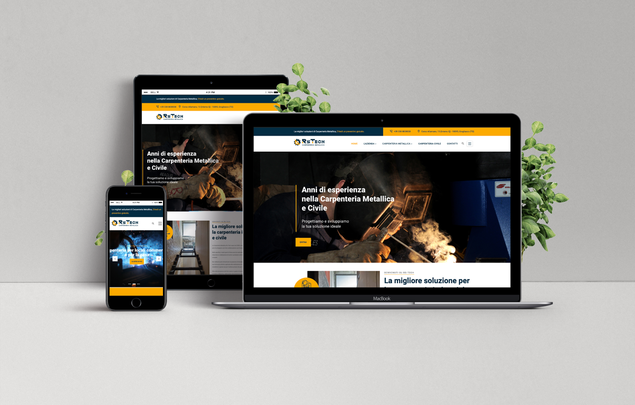 Restyling sito web Carpenteria RsTech